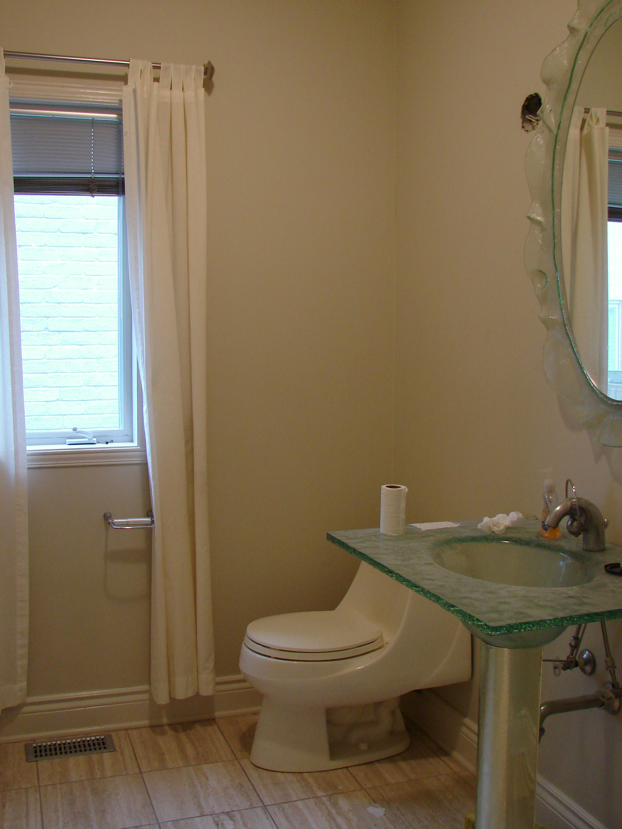 Interior Decoration Montreal West Islan Bathroom Before