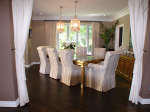 Dining Room Interior Design West Island Montreal After