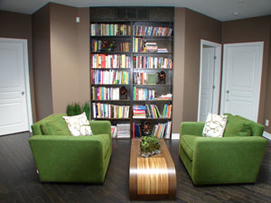 Library Interior Design After